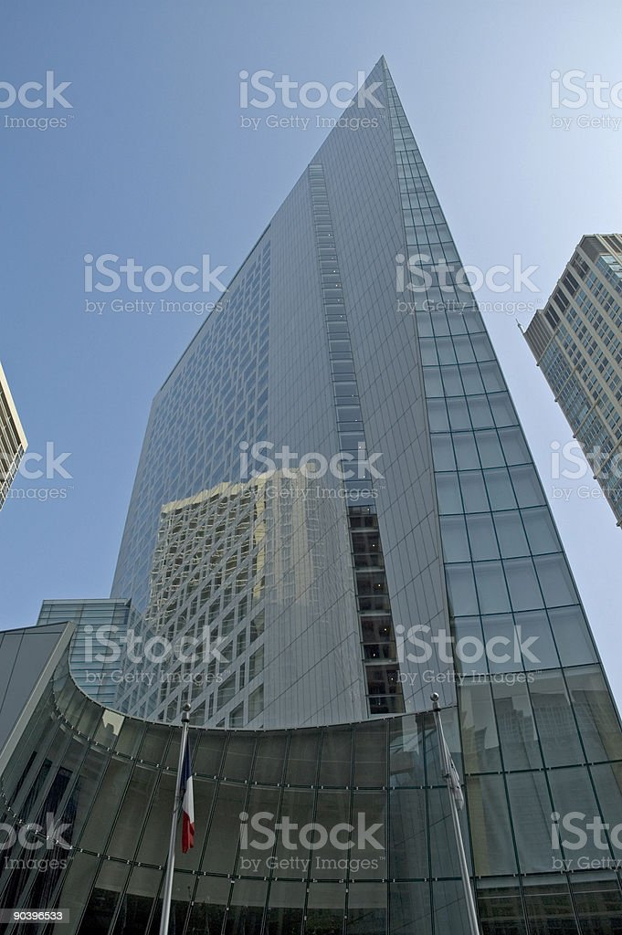 Funky Chicago tower stock photo