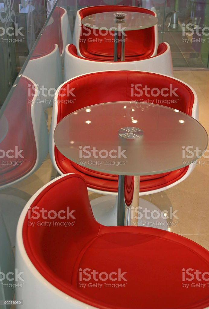 Funky furniture royalty-free stock photo