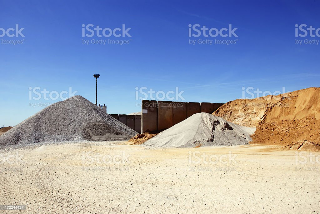 funky gravel royalty-free stock photo