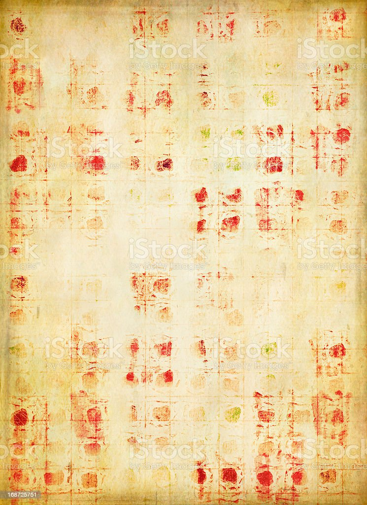 Funky grid background royalty-free stock photo
