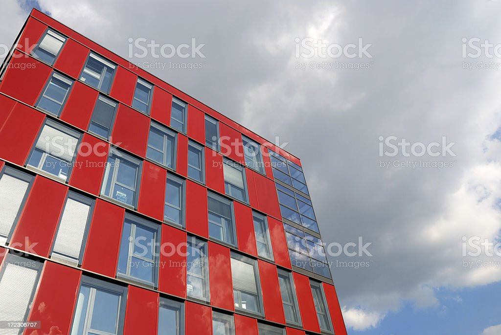 funky red royalty-free stock photo