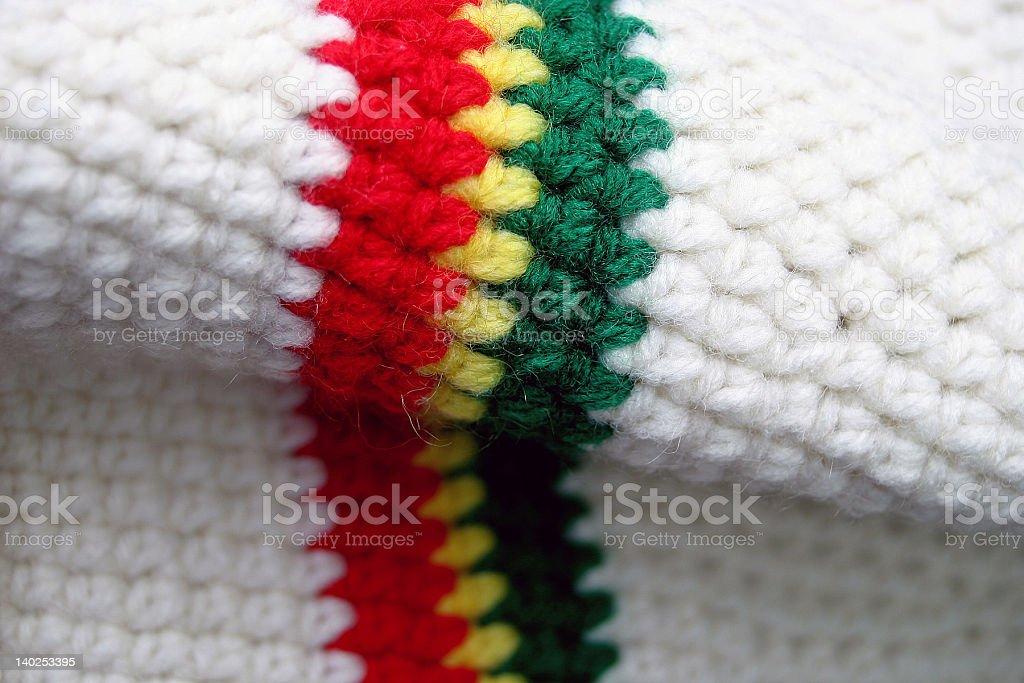 funky reggae hat stock photo