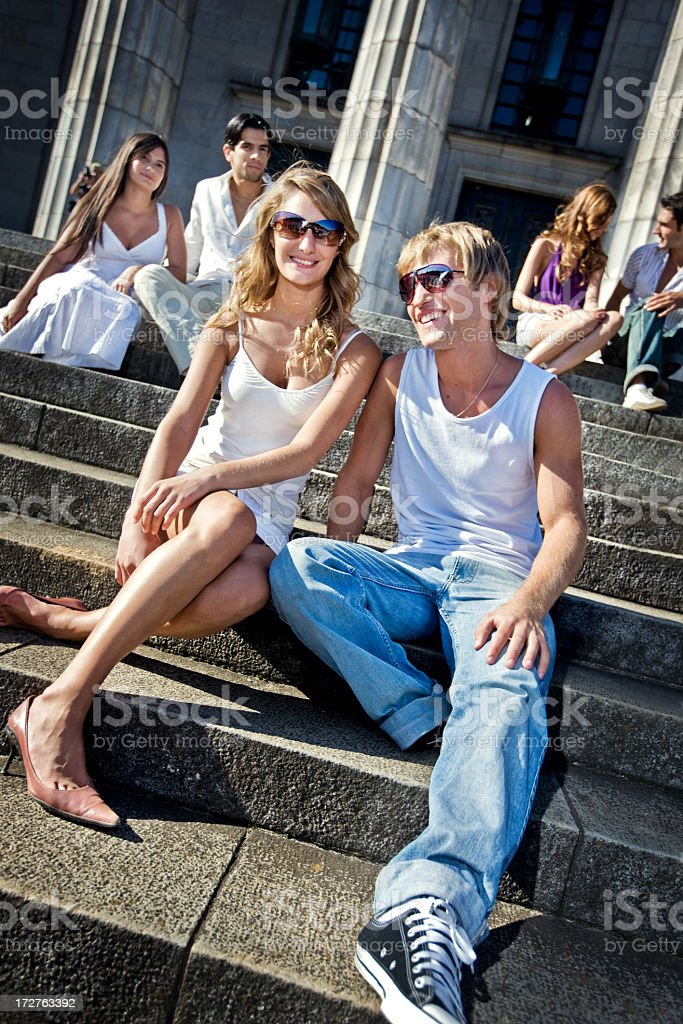 funky young People royalty-free stock photo