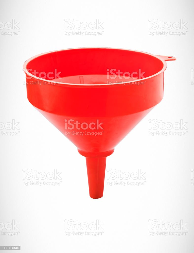 funnel stock photo