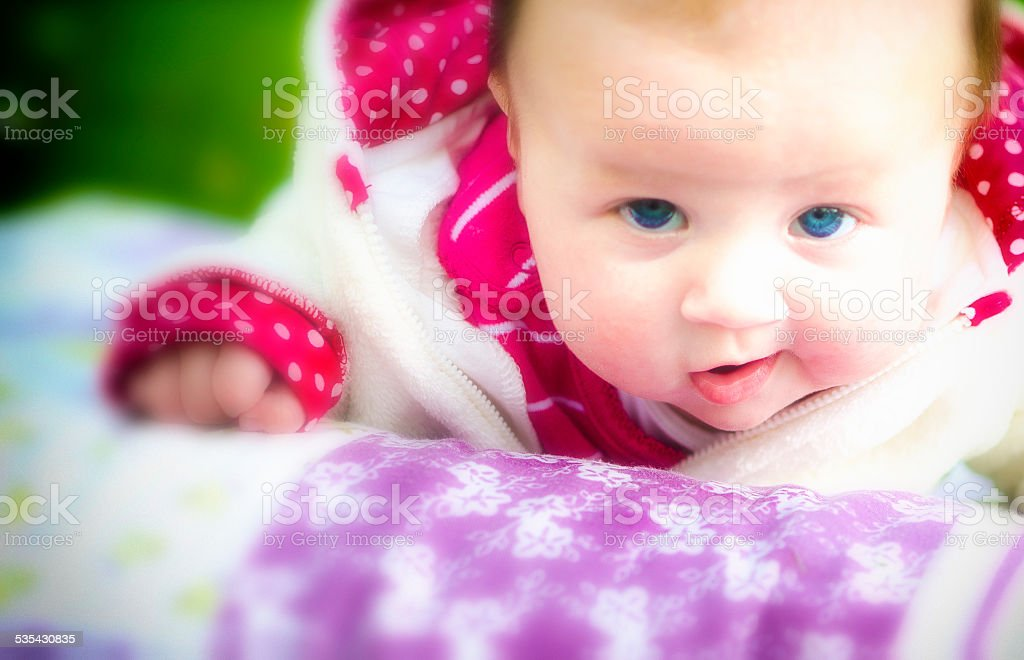 Funny Baby stock photo