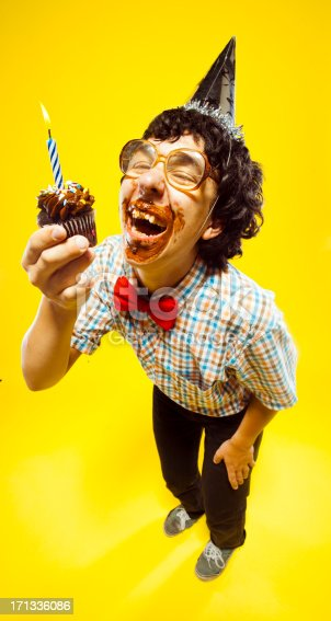 Funny Birthday Party Glasses Nerd Teen Boy Portrait Stock ...Funny Images Of Boys With Comments