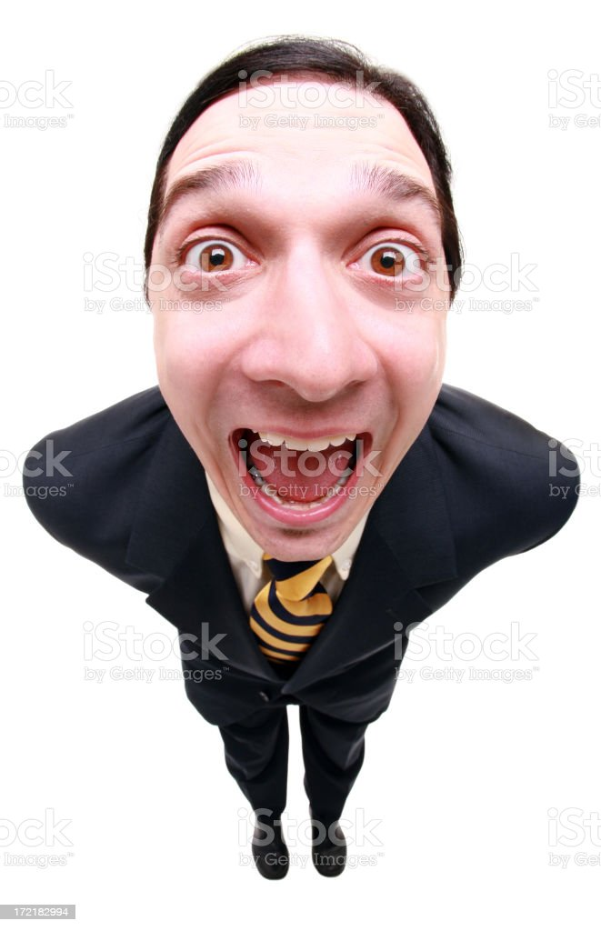 Funny Business Man royalty-free stock photo