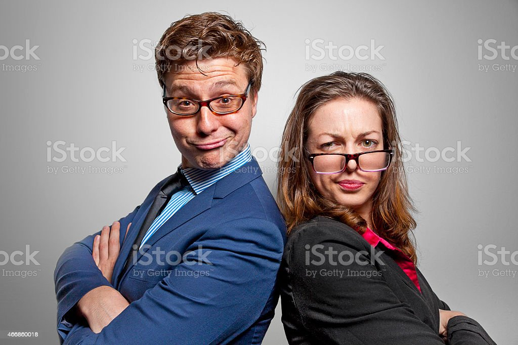 Funny Business stock photo