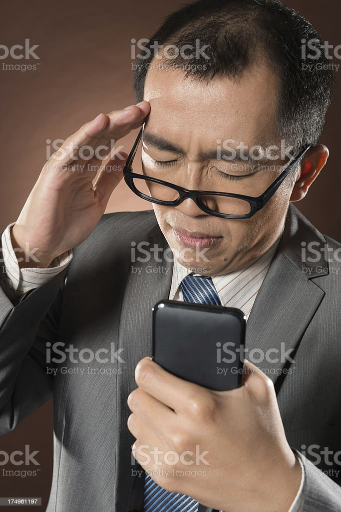 funny businessman stock photo