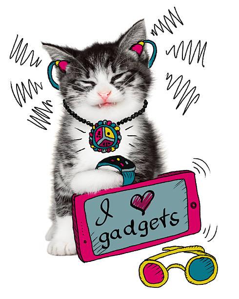 Funny cat loves his gadgets picture id476533060?b=1&k=6&m=476533060&s=612x612&w=0&h=feuzwxuyfzdzuce7orwn9hllopvff6izj9w5pxpphz0=