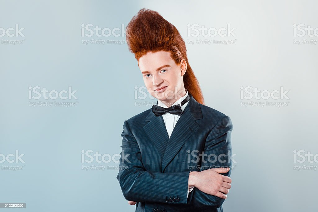 älterer mann junge redhead