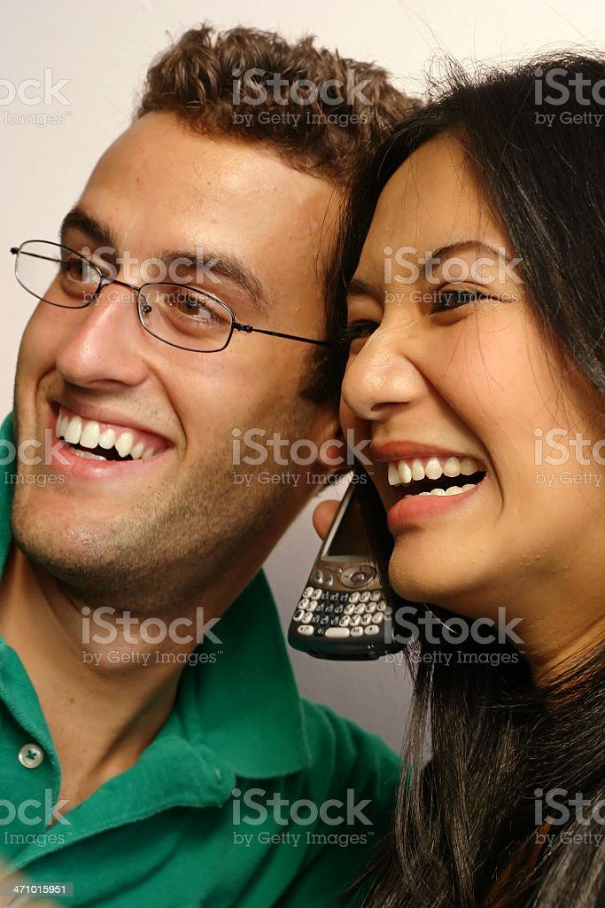 Funny Conversation stock photo