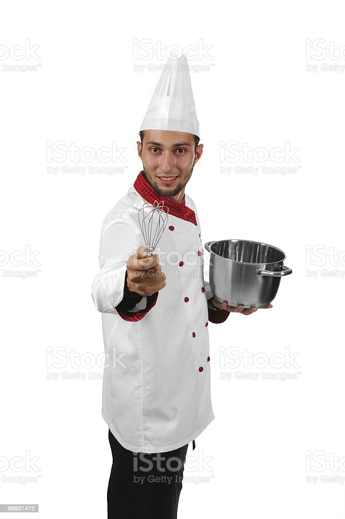 Funny Cook royalty-free stock photo