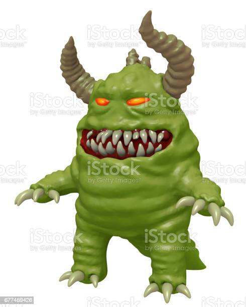 Funny cute monster with horns 3d render picture id677469426?b=1&k=6&m=677469426&s=612x612&h=k4g3q8o pt6n mxghnu9tpvl3 hof3  fzetwff6tbk=