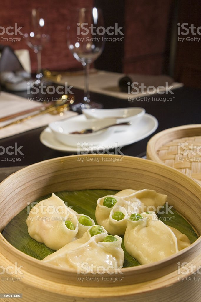 funny dim sums stock photo