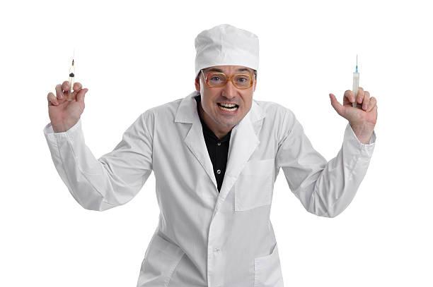 Weird Doctor Stock Photo 9