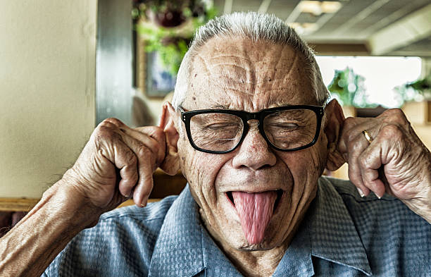 Best Funny Old Man Stock Photos, Pictures & Royalty-Free ...