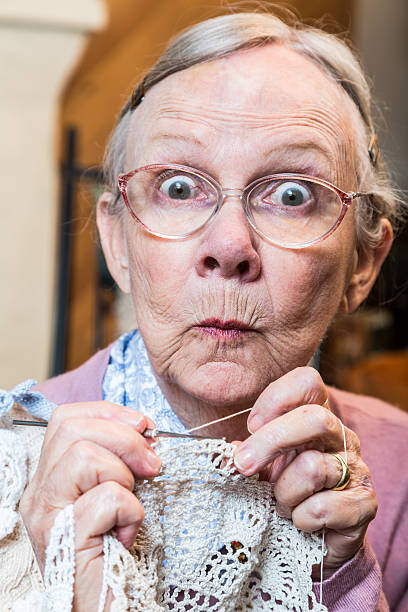 Weird Granny Stock Photos, Pictures & Royalty-Free Images