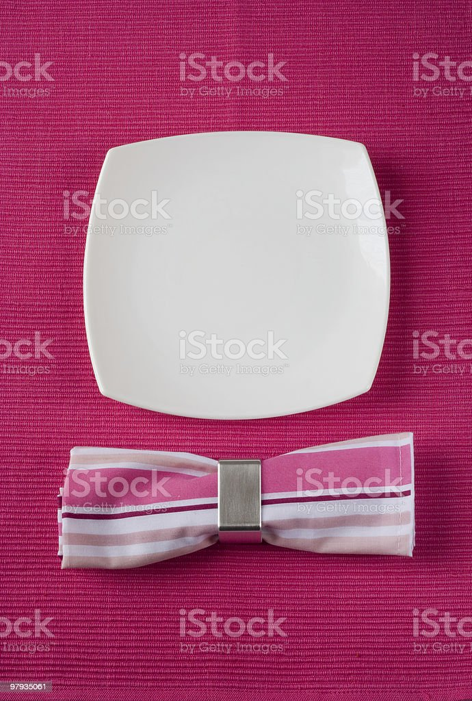 funny face plate royalty-free stock photo
