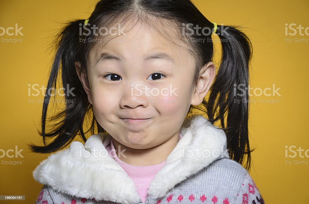 Funny faces! royalty-free stock photo