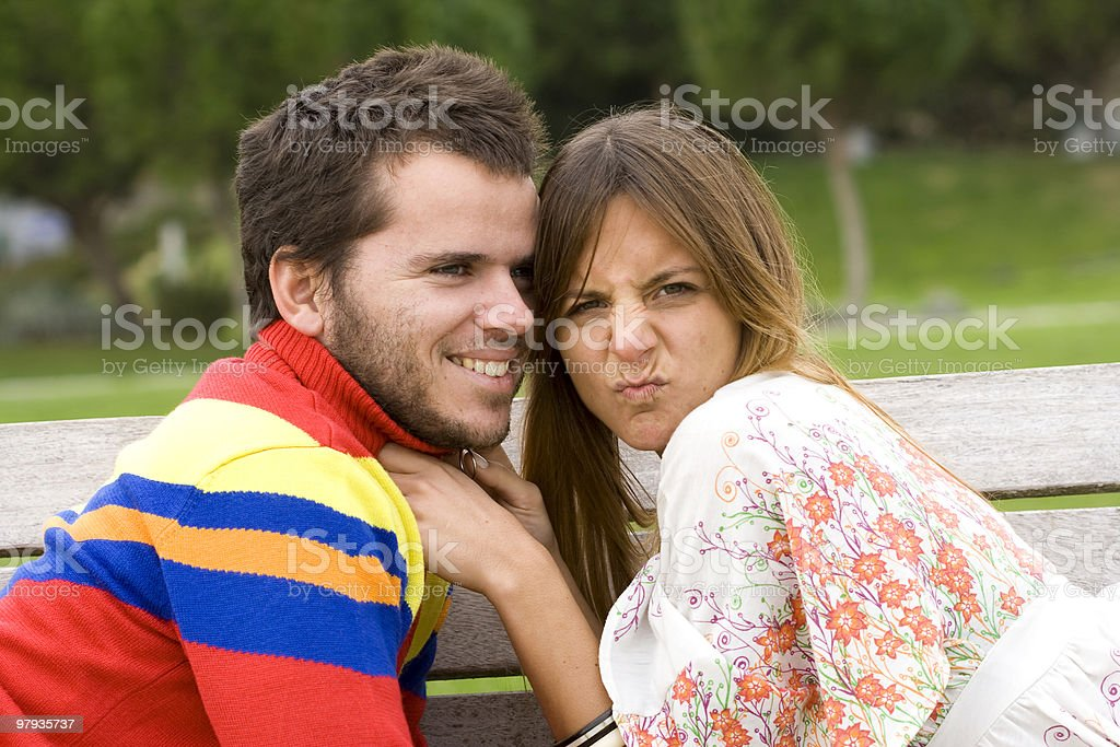 Funny faces royalty-free stock photo