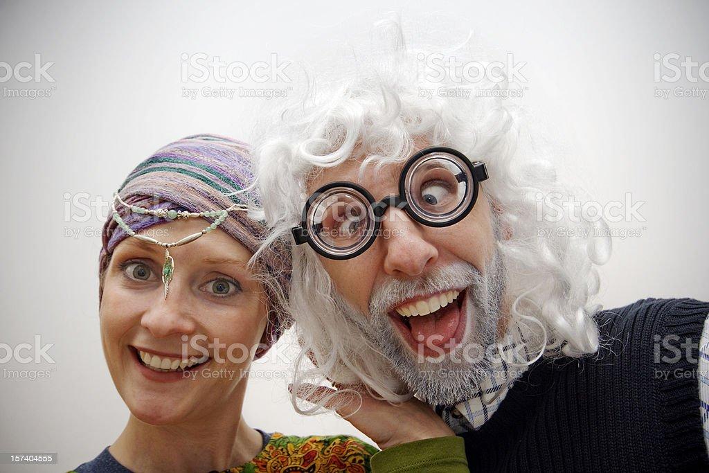 Funny Folks stock photo