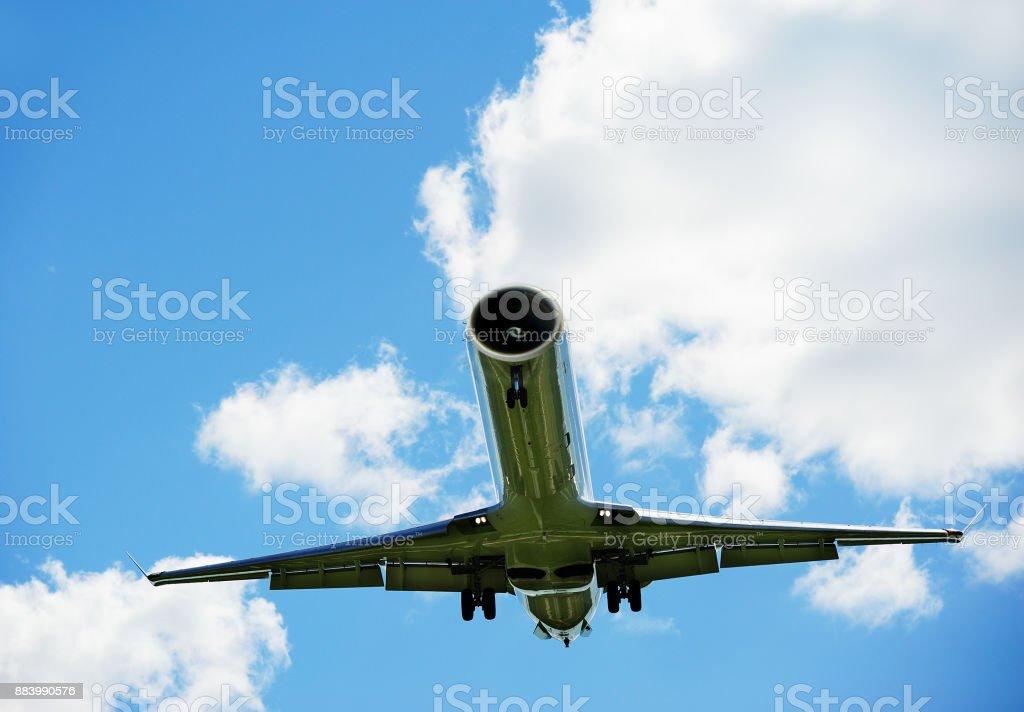 Lustige zukünftige cockpitless Flugzeuge, Autopilot, kein pilot – Foto