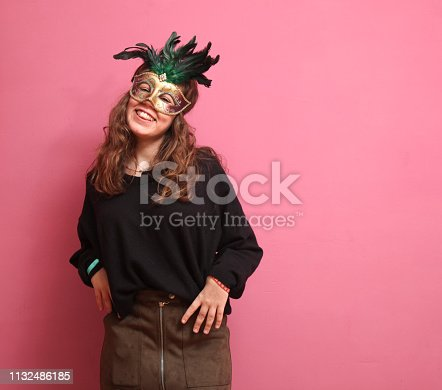 Funny girls in a Photo Booth party
