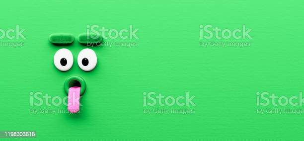 Funny green silly character face expression background 3d render picture id1198303616?b=1&k=6&m=1198303616&s=612x612&h=hqukyankdsiav9ytjw6zgp gpyskqowzj1ggah2 k1g=