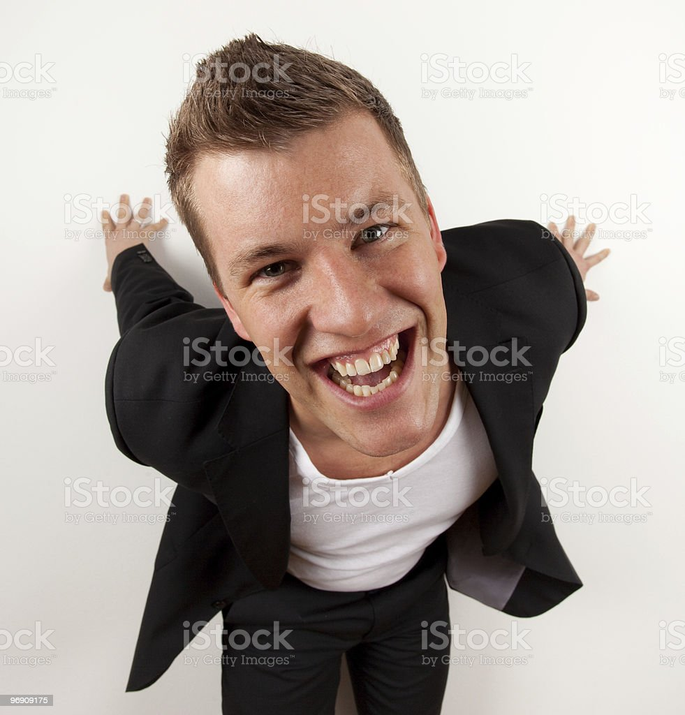 Funny guy royalty-free stock photo