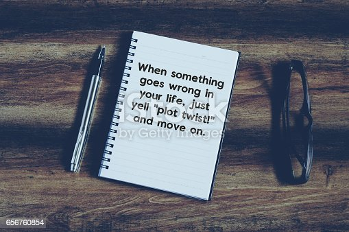 istock Funny inspirational quotes 656760854