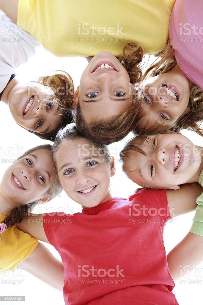 Funny kids royalty-free stock photo