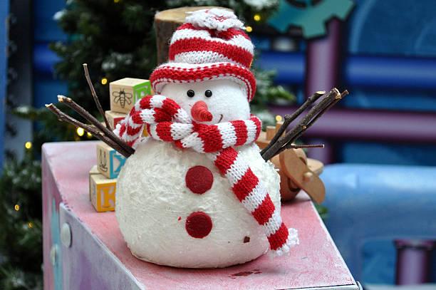 Funny little snowman