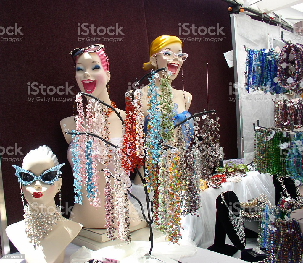 Funny Mannequins stock photo
