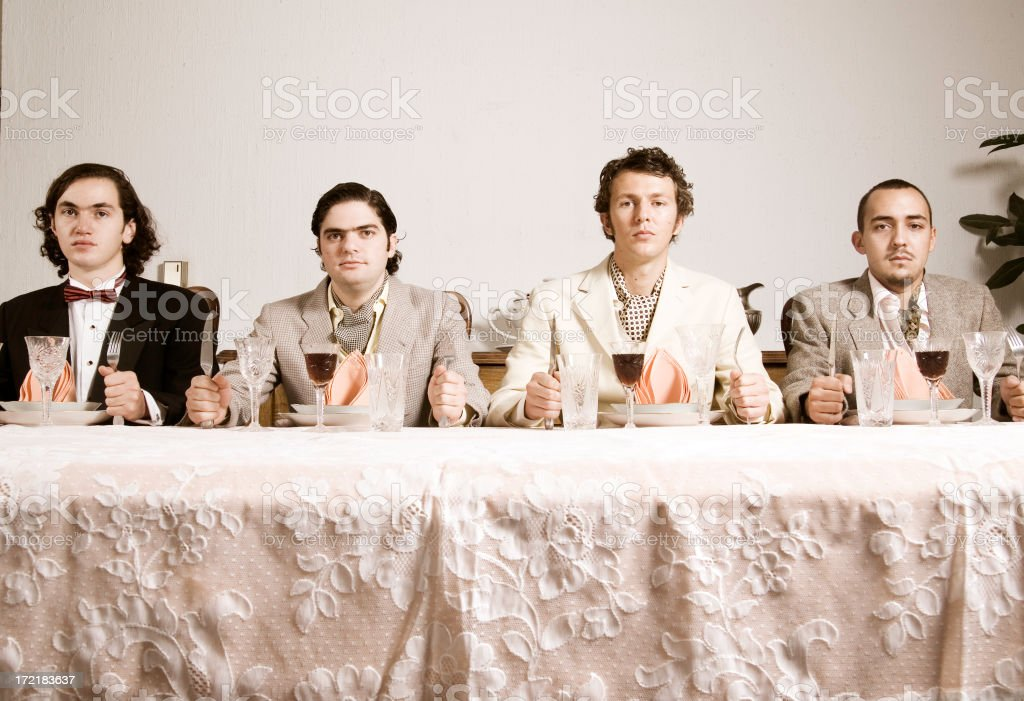 funny meal royalty-free stock photo