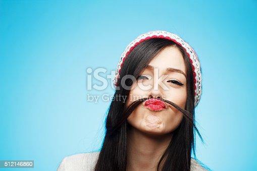 istock Funny moustache 512146860