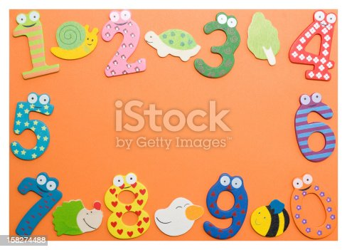 istock Funny number 158274488
