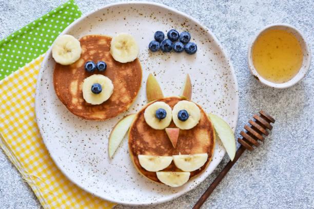 Funny pancakes for kids bear and owl breakfast for children picture id1169342608?b=1&k=6&m=1169342608&s=612x612&w=0&h=uk0wcyoxombhx0ssiavpytc9t0dahdaysbqhuz31i2q=