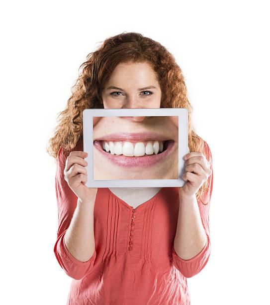 Funny portraits stock photo