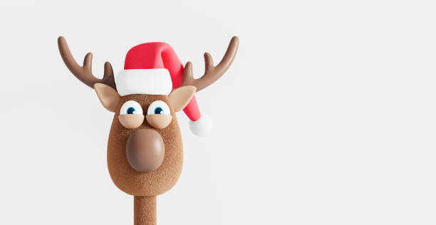 Funny reindeer with christmas hat isolated on white winter holidays picture id1257853628?b=1&k=6&m=1257853628&s=612x612&w=0&h=xu8olsp48kh1iinrz3jgq9iukcaefhiapti9s1or8ds=