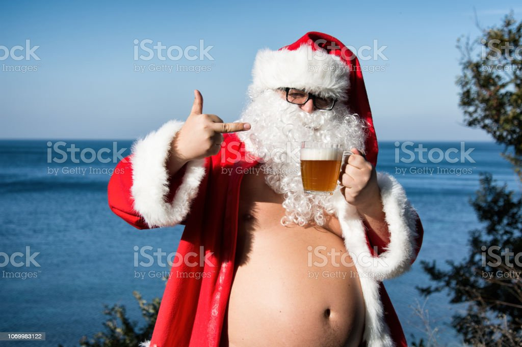 Naked Santa Claus Stock Photos, Pictures & Royalty-Free