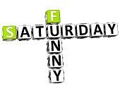 3D Funny Saturday Crossword