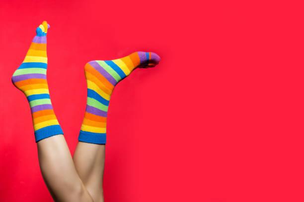 funny socks stock photo