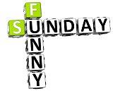 3D Funny Sunday Crossword