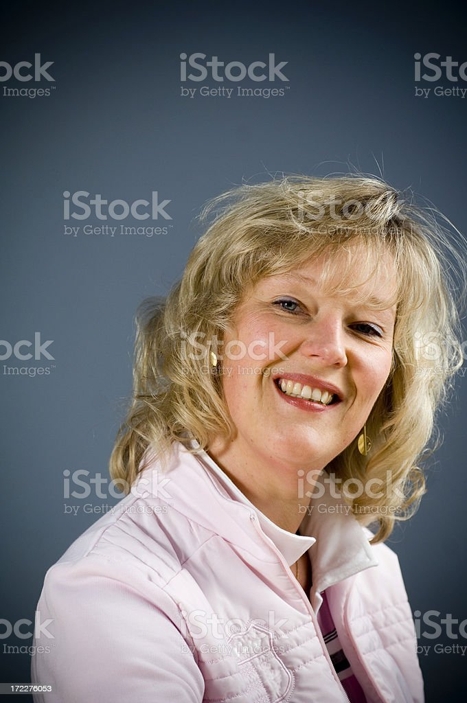 Funny woman royalty-free stock photo