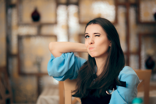 istock Funny Woman Thinking Hard How to Resolve a Problem 1024549034
