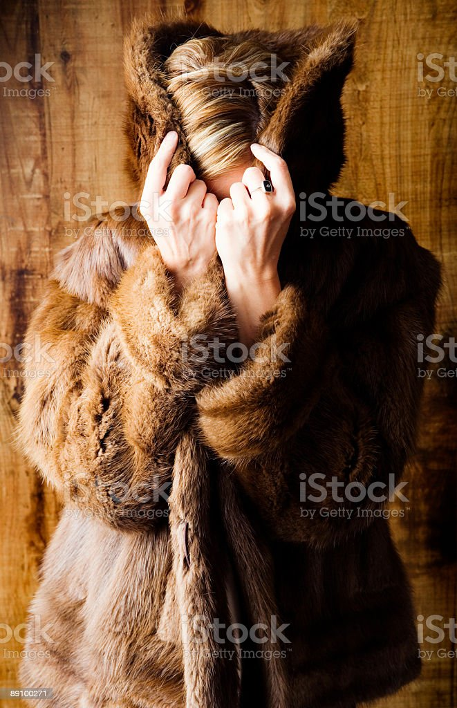 Fur Cover royalty-free stock photo