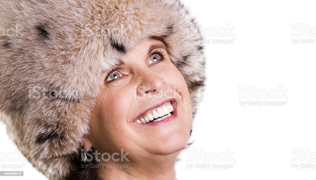 Futrzana czapka zbiór zdjęć royalty-free