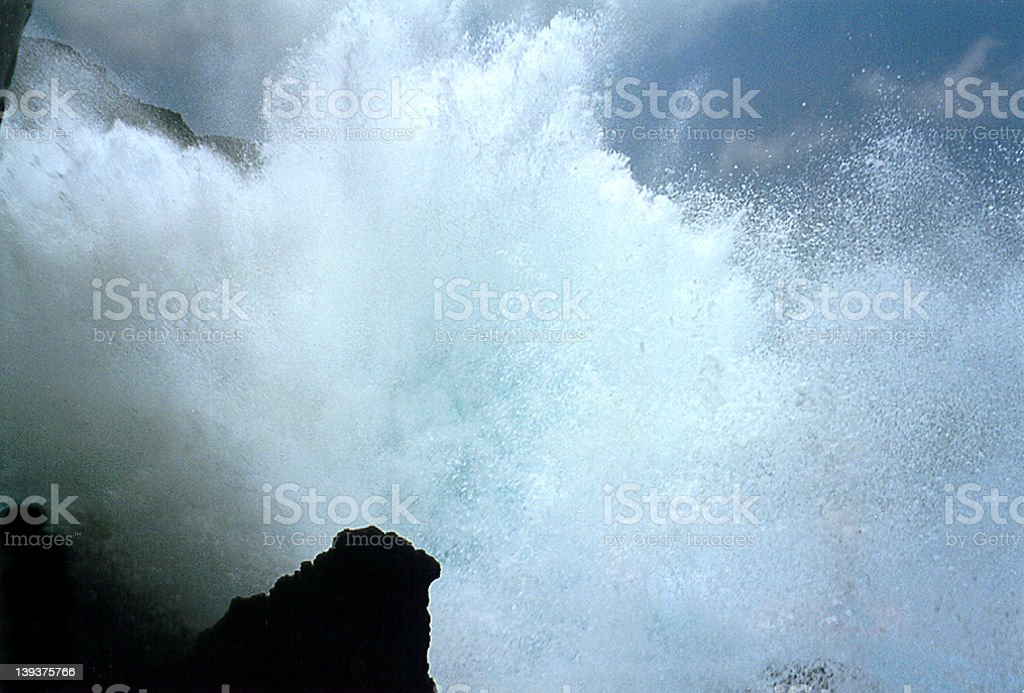 Furious Ocean  high resolution royalty-free stock photo