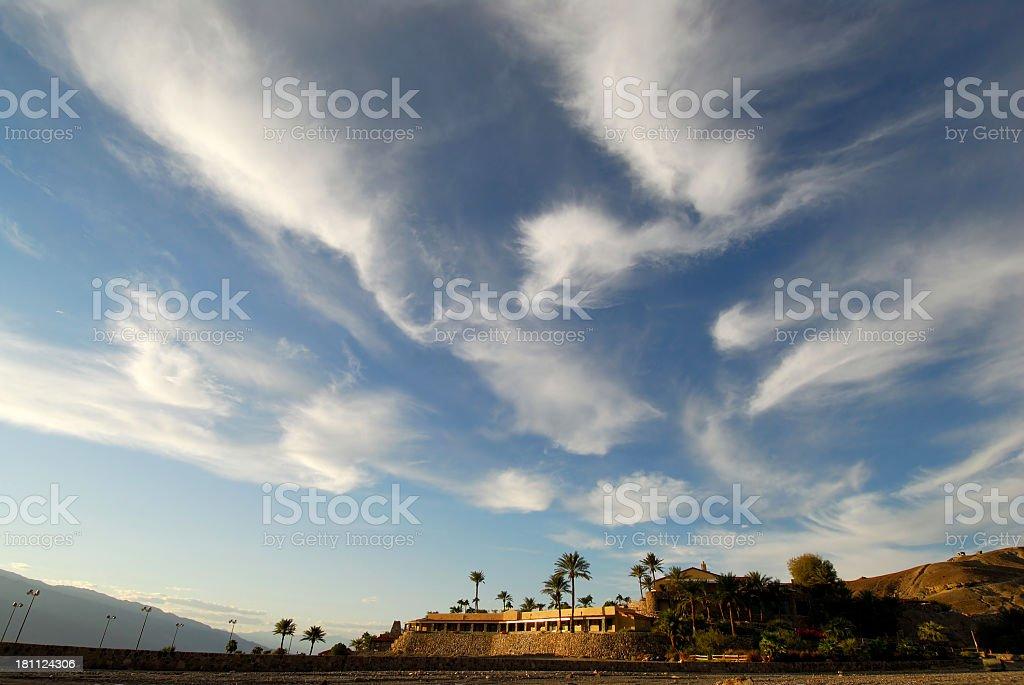 Furnace Creek Inn. Death Valley, California. royalty-free stock photo